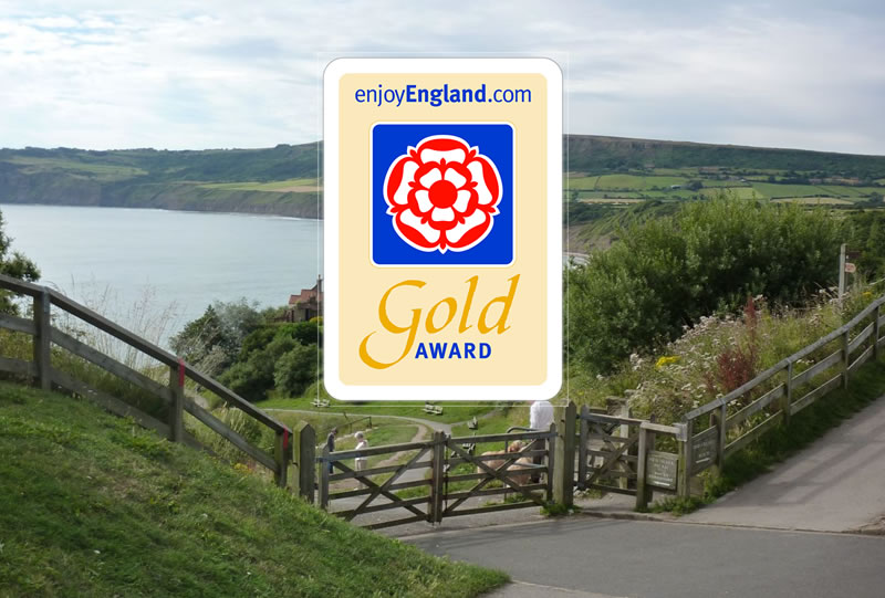 Now rated 4 Star by Visit England and a Gold Award 2017