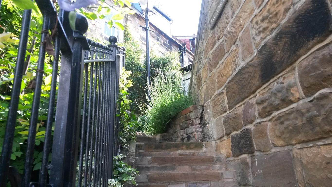Rear of Cottage The Bakehouse Steps